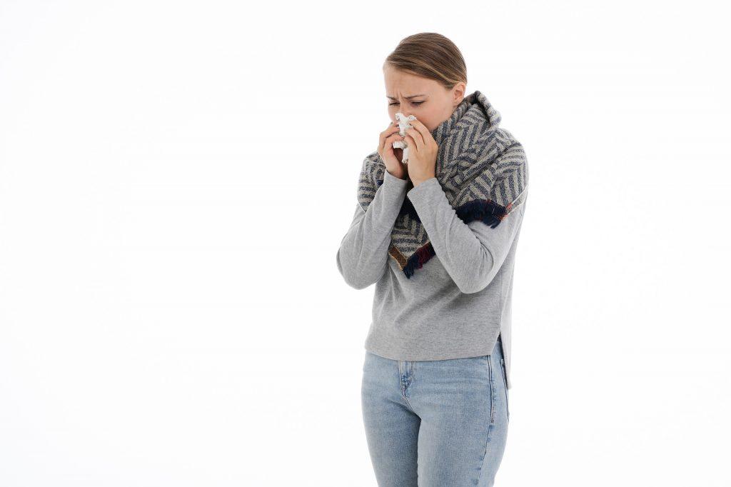 настинка, грип, синузит